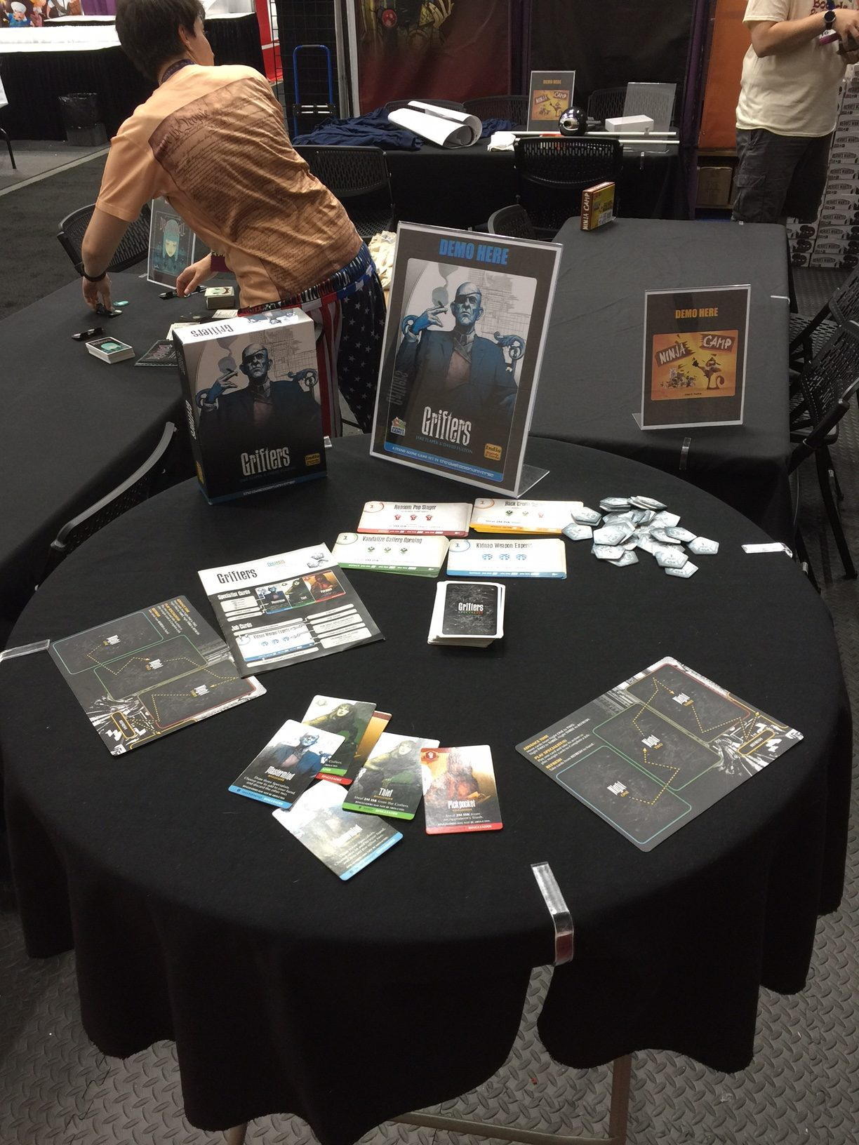 Grifters was also demoed at the Action Phase booth.