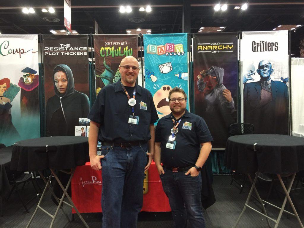 Dave and Jake at Gencon